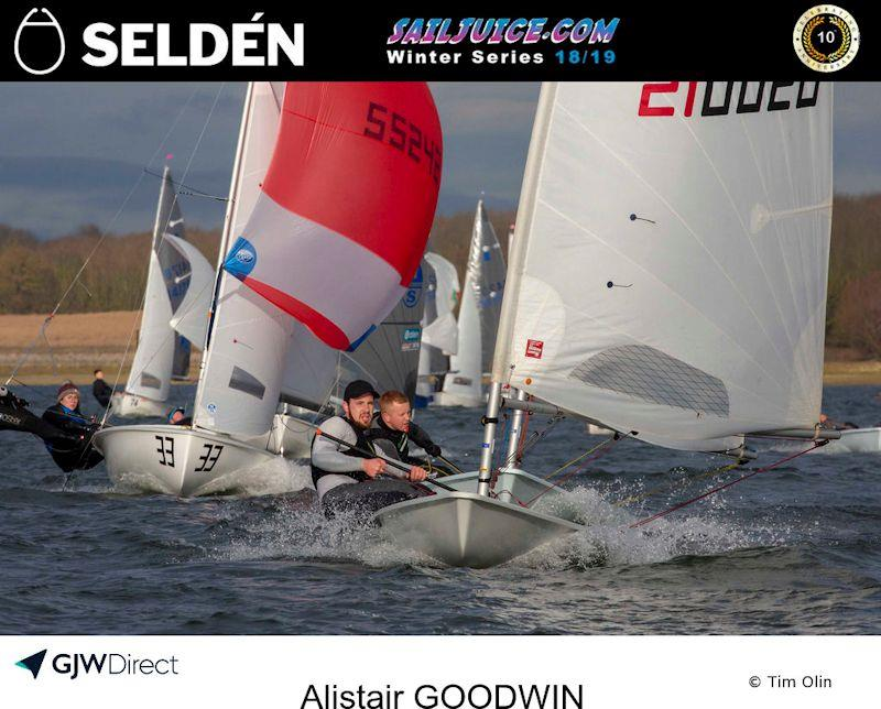 Alistair Goodwin took third overall in the 2019 Selden SailJuice Winter Series - photo © Tim Olin / www.olinphoto.co.uk