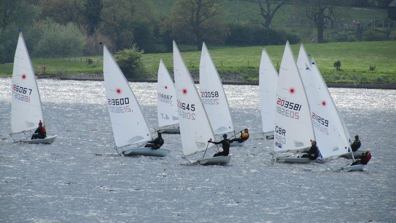Sailing Chandlery Laser Super Grand Prix at Blithfield photo copyright Phil Base and Phil Mason taken at Blithfield Sailing Club and featuring the Laser class
