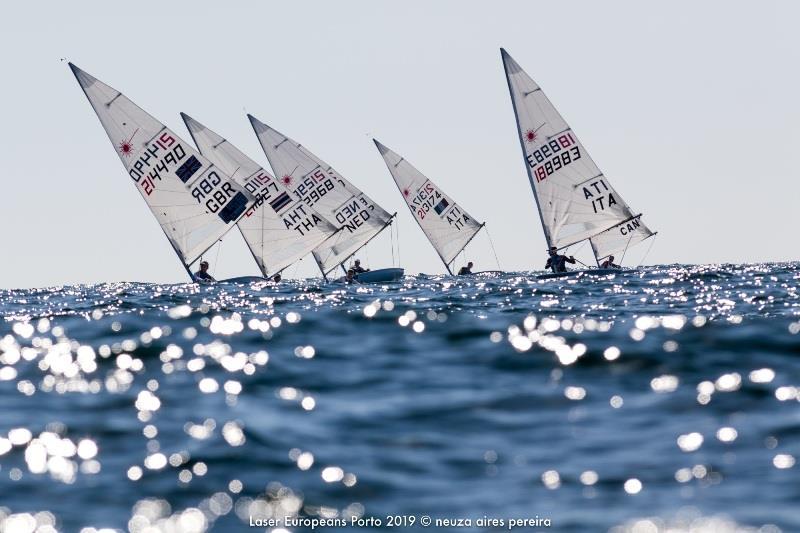 Laser European Championship At Porto Portugal Day 3