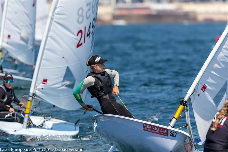 Laser European Championship Porto 2019 - Day 5 - photo © Joao Ferrand