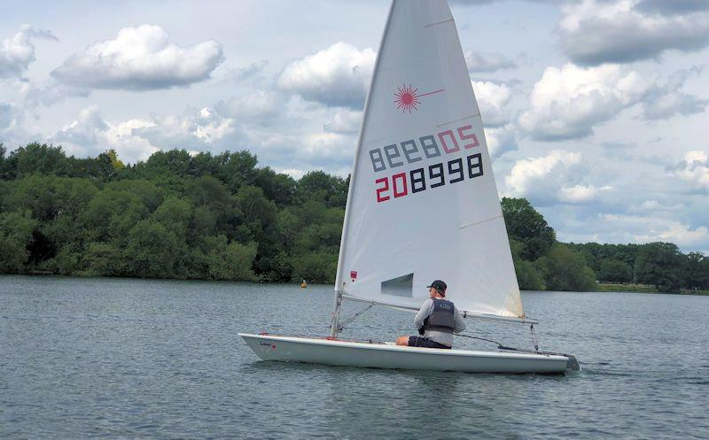 Laser Thames Valley Series at Aldenham  - photo © ASC
