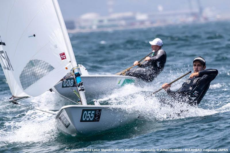 Thomas Saunders (NZL) - Day 3, World Laser Championship, Sakaiminato, Japan July 2019 © Junichi Hirai / Bulkhead Magazine Japan photo copyright Junichi Hirai / Bulkhead Magazine Japan taken at  and featuring the Laser class