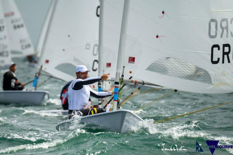 Tonci Stipanovic - 2020 ILCA Laser Standard World Championship in Melbourne, day 1 - photo © Jon West Photography