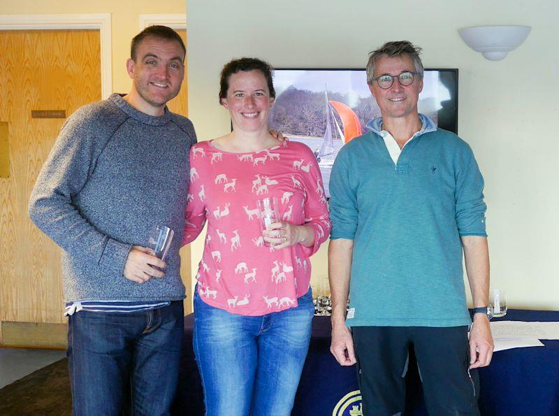 Iain and Sarah Yardley win the Medium Fleet and overall Chichester Frozen Toe Series - photo © CYC