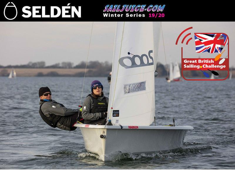 Simon Horsfield & Katie Burridge win the Slow Fleet during the Grafham Grand Prix - photo © Tim Olin / www.olinphoto.co.uk