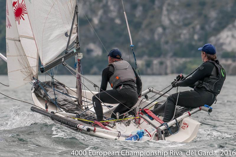 4000 class European Championships at Garda 2016 - photo © Renato Tebaldi