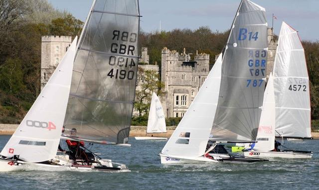 Weston Grand Slam photo copyright Richard Thoroughgood taken at Weston Sailing Club and featuring the 4000 class