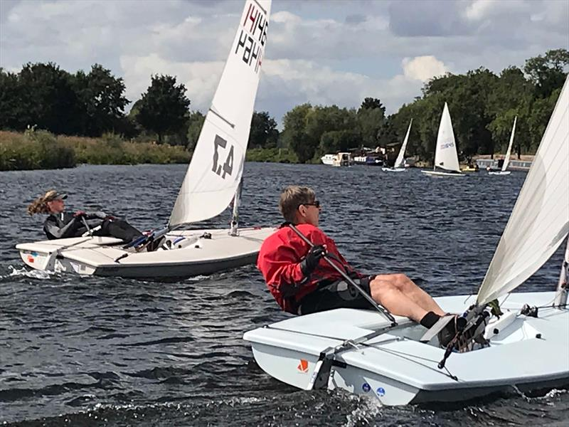 Laser Midlands GP at Trent Valley photo copyright Simon Hardiman taken at Trent Valley Sailing Club and featuring the Laser 4.7 class