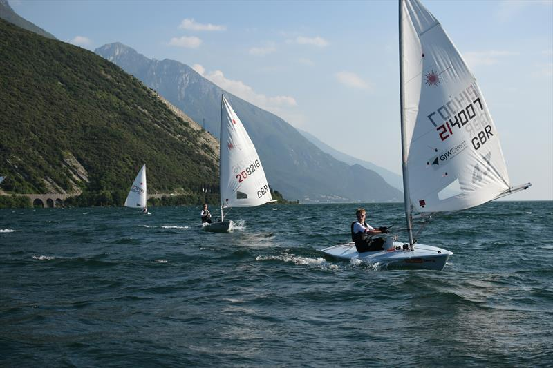 Jack Graham-Troll at the Lake Garda race clinic - photo © Jack Rockett