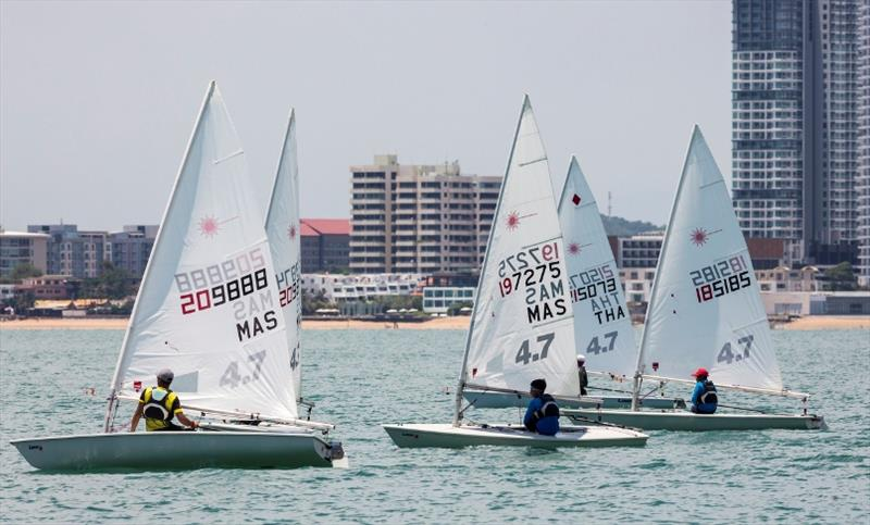 Close racing in the single-handed dinghy classes - Day 4, Top of the Gulf Regatta 2019 - photo © Guy Nowell / Top of the Gulf Regatta