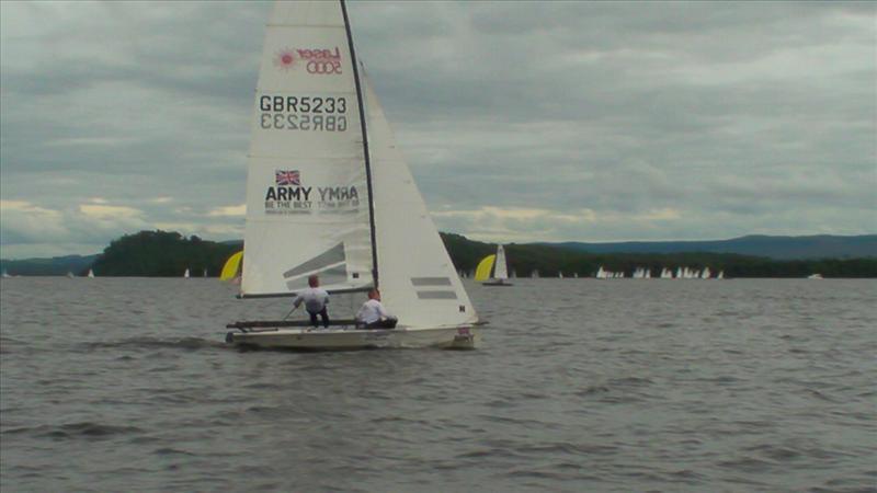 Laser 5000 Open Meeting At Loch Lomond Sailing Club