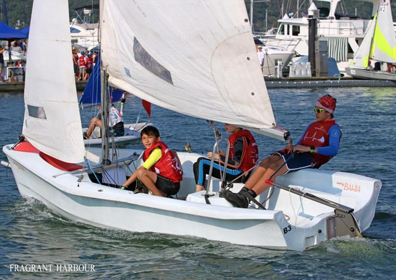 Hebe Dragons - 24 Hour Charity Dinghy Race - photo © Fragrant Harbour