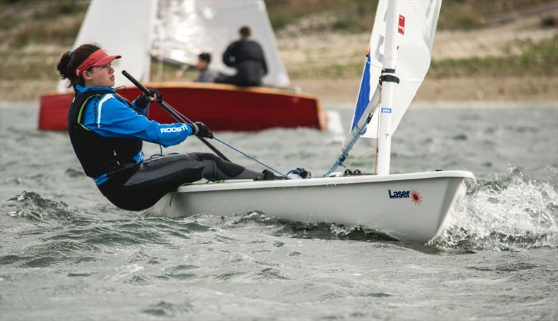 Jackie Truhol (Durham) during the BUCS Fleet Racing Championships - photo © JJRE Photos / www.instagram.com/JJREast/