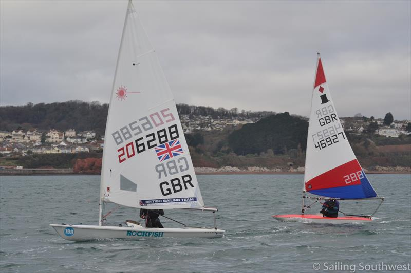 The Christmas Cracker at Paignton Sailing Club - photo © Sailing Southwest