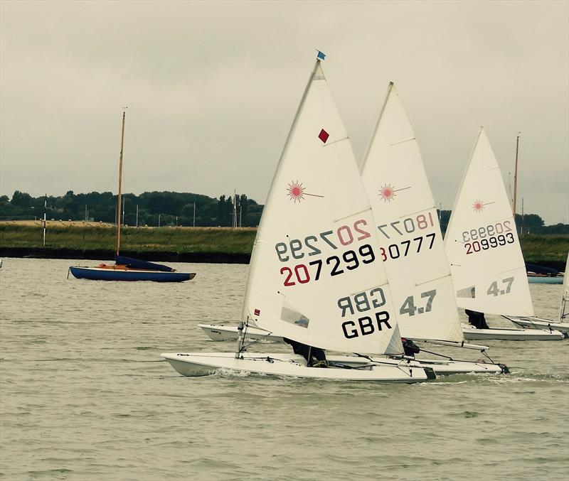 Aldeburgh Yacht Club Junior & Youth Regatta 2018 photo copyright Rob Jones taken at Aldeburgh Yacht Club and featuring the Laser Radial class