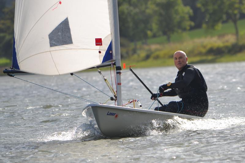 Radial fleet winner, Chris Jones during the  during the Laser South Coast Grand Prix at Sutton Bingham - photo © Saffron Gallagher