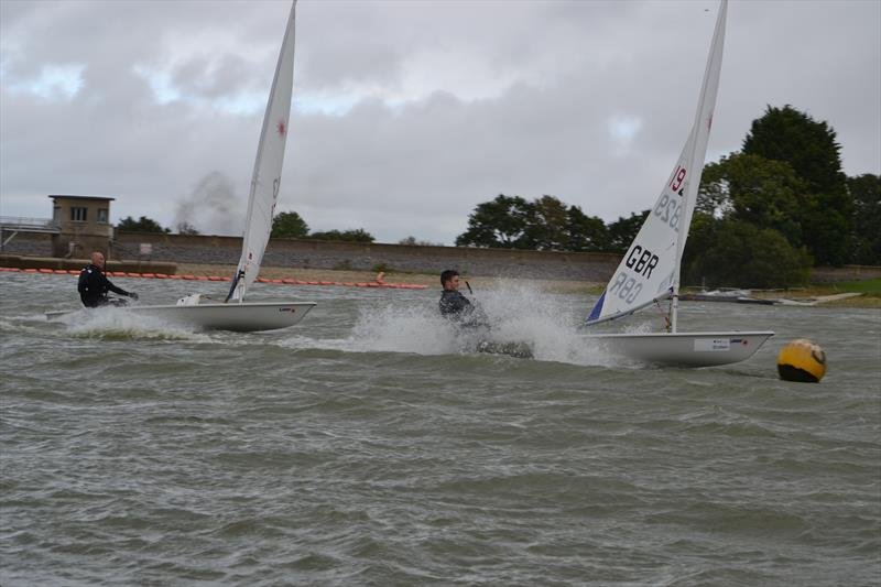 Blustery conditions for the Laser South Coast Grand Prix at Sutton Bingham - photo © Saffron Gallagher
