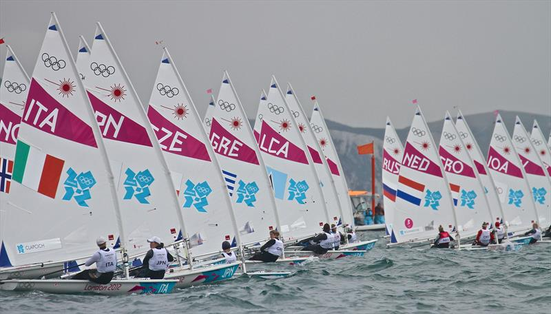 There were 41 Qualification places rejected rejected by MNA's for 2016 Olympics so it is surprise when Sailing lost 30 places for 2020 and beyond photo copyright Richard Gladwell taken at Weymouth & Portland Sailing Academy and featuring the Laser Radial class