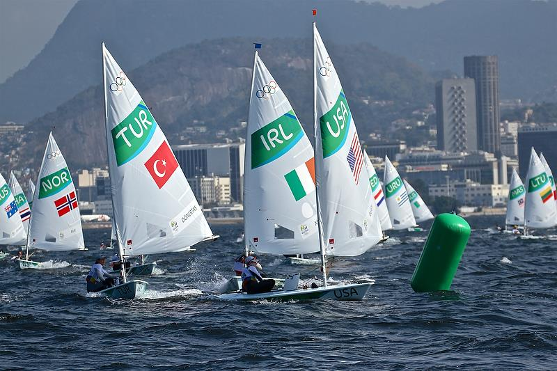 Day 2 - Laser Radial  - Rio Olympic Regatta photo copyright Richard Gladwell taken at  and featuring the Laser Radial class