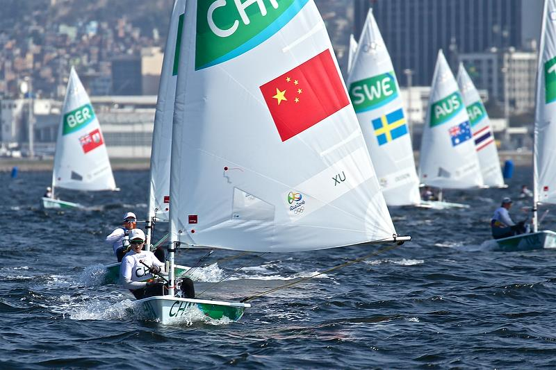 Rio 2016 Olympic Regatta photo copyright Richard Gladwell taken at  and featuring the Laser Radial class