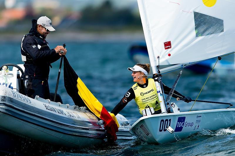 Laser Radial - Day 10 - Hempel Sailing World Championships, Aarhus, Denmark, August 10, 2018 - photo © Sailing Energy / World Sailing