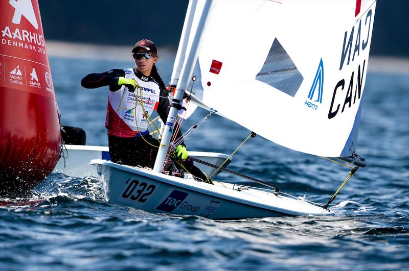 Sarah Douglas - 2018 Hempel Sailing World Championships - photo © Sailing Energy