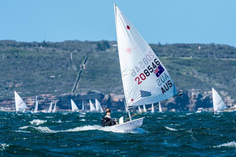Mara Stransky leads the Laser Radial after day 3 - Sail Sydney - photo © Beau Outteridge
