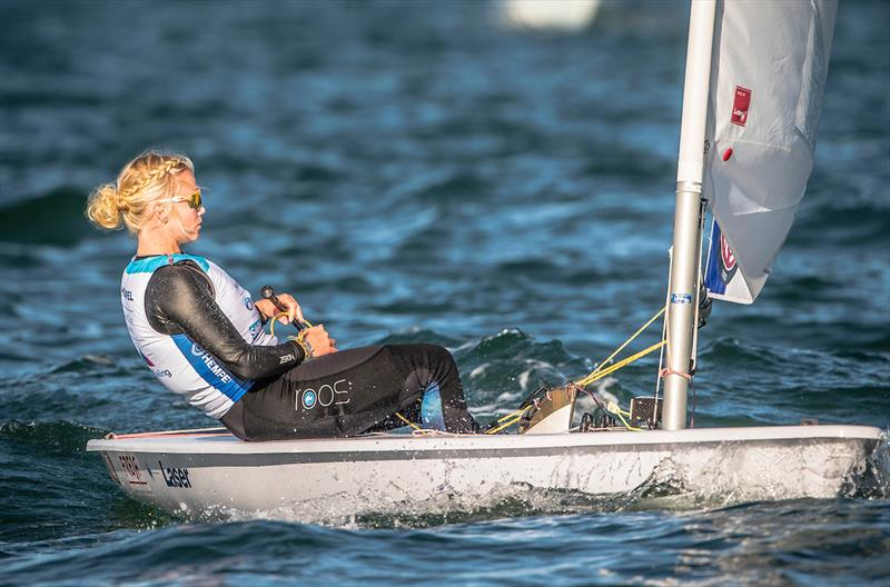 Monika Mikkola - 2019 Hempel World Cup Series Miami - Day 2 - photo © Jesus Renedo / Sailing Energy / World Sailing