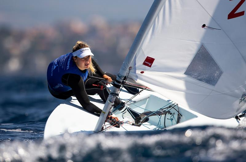 Carolina Albano (ITA) on day 3 of the Hempel World Cup Series Final in Marseille - photo © Sailing Energy / World Sailing
