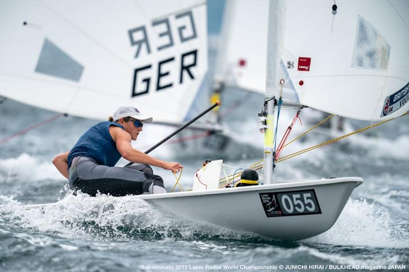 Alison Young (GBR) on day 4 of the ILCA Laser Radial World Championships in Japan - photo © Junichi Hirai / Bulkhead Magazine Japan