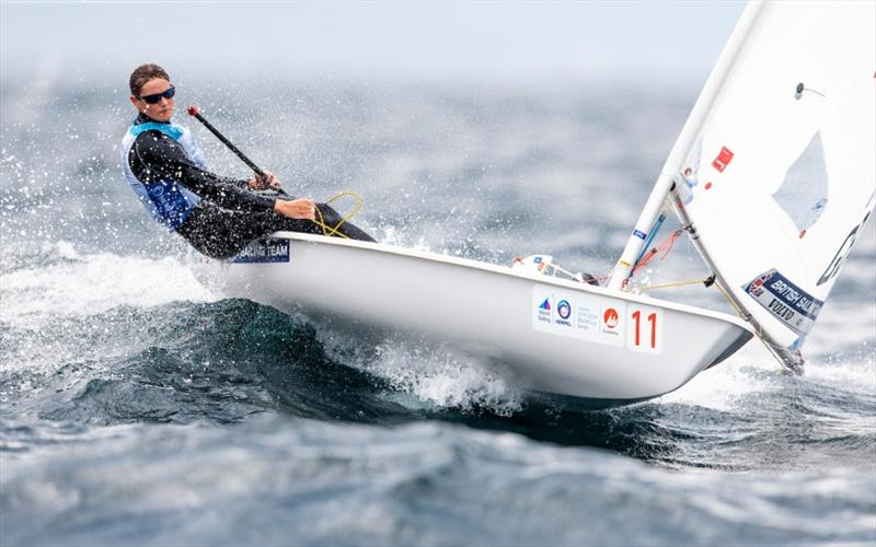 Ali Young - Hempel World Cup Series Enoshima, Day 5 - photo © Pedro Martinez / Sailing Energy / World Sailing