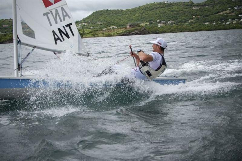 Daniel  Smit, winner Laser Radial - 2019 Caribbean Dinghy Championships - photo © Ted Martin / Antigua Photography