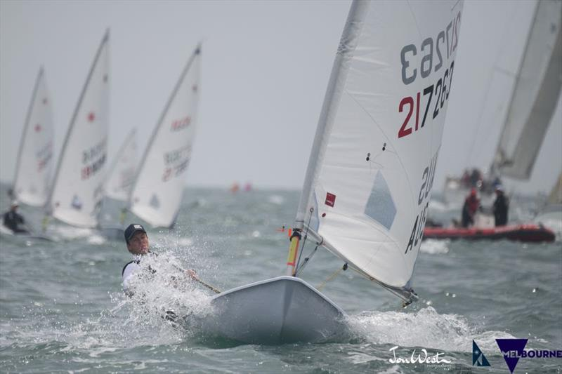 Brody Riley won the 2020 Australian Men's Laser Radial Championship - photo © Jon West Photography