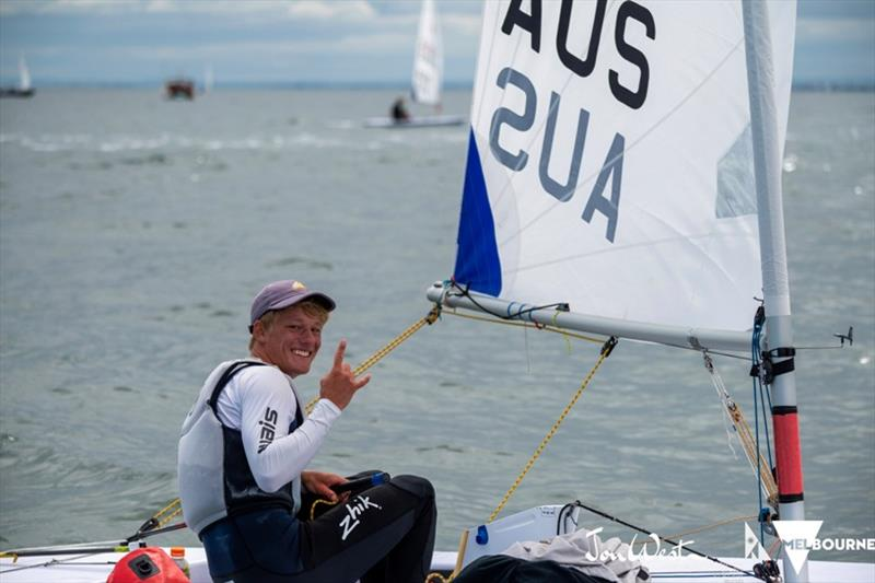 Christmas 2020 Michael Compton Australian sailors at 2020 ILCA Laser Radial Women's Championship