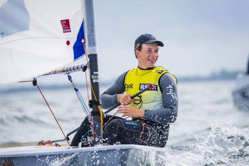 The Dutchman Paul Hameeteman never compromised at any stage with only top two results and won the Kieler Woche. - photo © Sascha Klahn / Kieler Woche