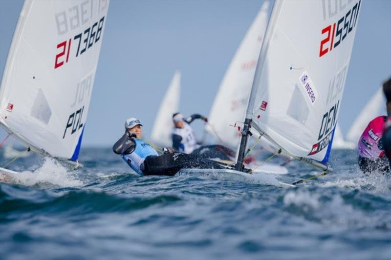 2019 World Champion Anne-Marie Rindom (DEN) took the Kieler-Woche victory in the Laser Radial in the last race. - photo © Sascha Klahn / Kieler Week