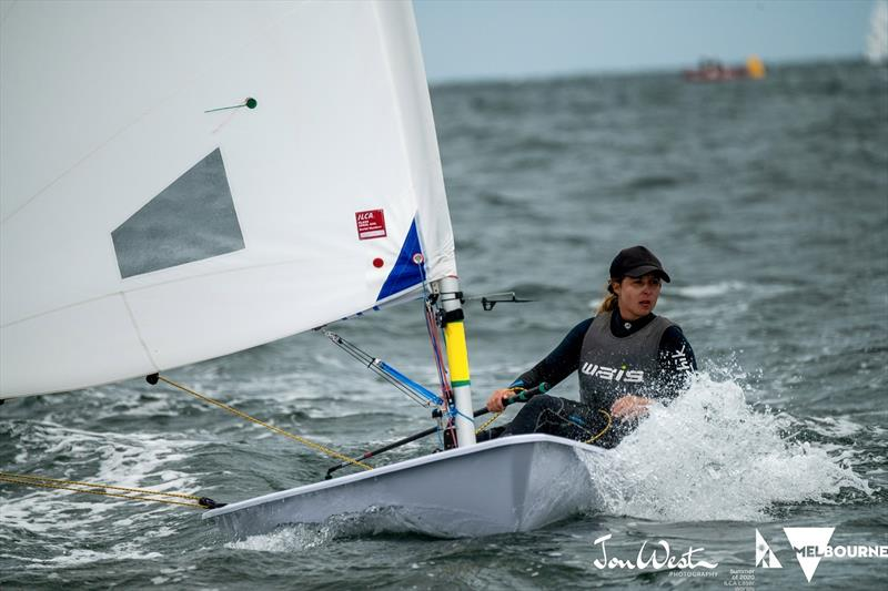 Zoe Thomson photo copyright Jon West Photography taken at Australian Sailing and featuring the Laser Radial class