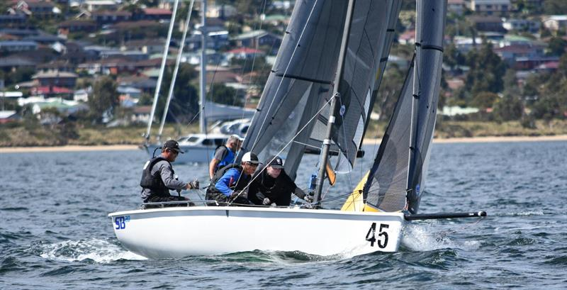 Aeolus (Brett Cooper) on day 2 of the 2018 SB20 World Championship - photo © Jane Austin