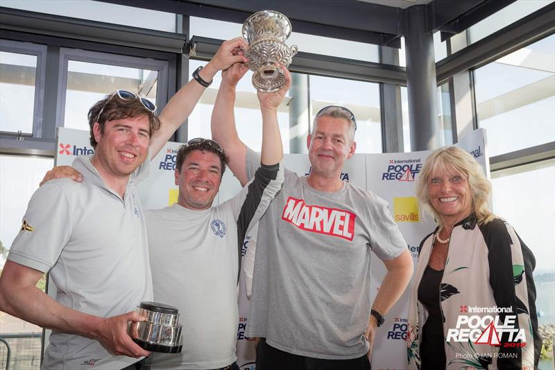 Canford Cup winners Marvel at the International Paint Poole Regatta 2018 - photo © Ian Roman / International Paint Poole Regatta