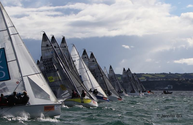 The Royal Southern Yacht Club has the pleasure of welcoming the SB20 Class for four days of action - photo © Jennifer BG