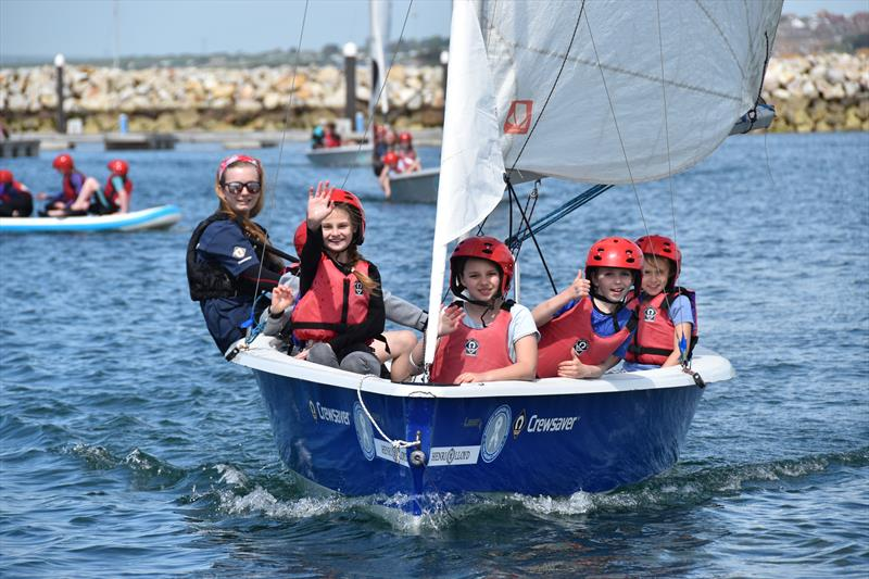 The Andrew Simpson Watersports Centre - Portland celebrates its fourth birthday photo copyright Lindsay Frost / ASWC taken at Andrew Simpson Sailing Centre and featuring the Laser Stratos class