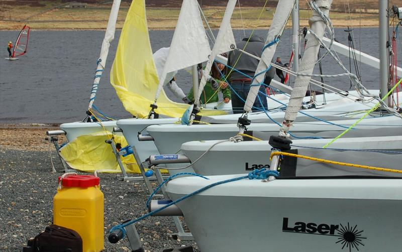 Laser Vago Open North Event at Yorkshire Dales SC photo copyright Dave Baxter / Vago Class Association taken at Yorkshire Dales Sailing Club and featuring the Laser Vago class