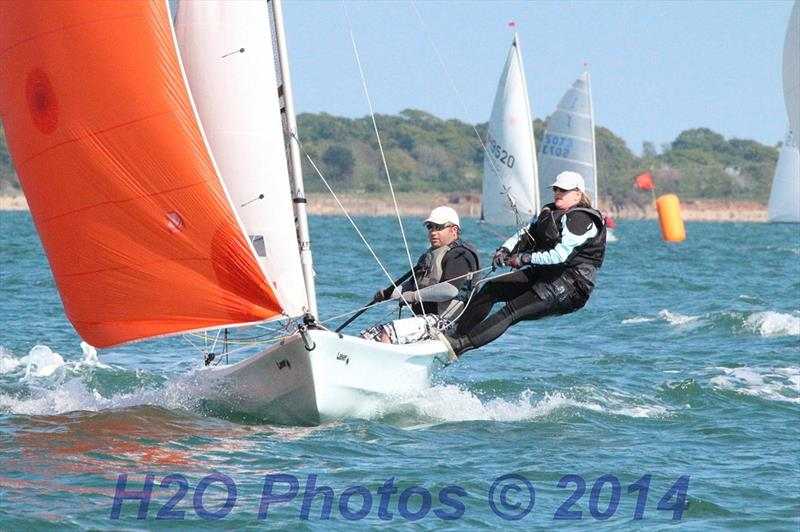 The Vago Coastal Nationals will be held at Langstone Harbour Race Weekend photo copyright Will Tremlett / H2O Photos taken at Langstone Sailing Club and featuring the Laser Vago class