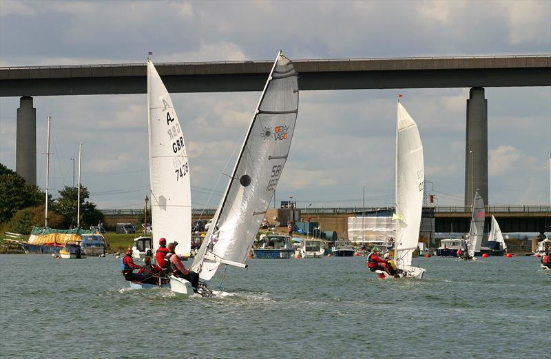 2017 Round the isle of Sheppey Race photo copyright Nick Champion / www.championmarinephotography.co.uk taken at Isle of Sheppey Sailing Club and featuring the Laser Vago class