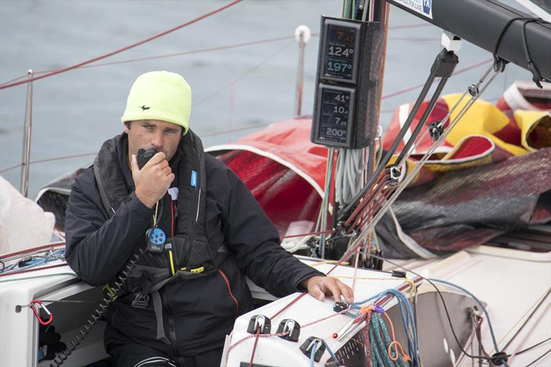 Alexis Loison (Region Normandie) during La Solitaire Urgo Le Figaro 2019 Leg 3 - photo © Alexis Courcoux