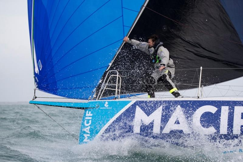 Martin Le Pape (Skipper Macif 2017) - The Solitaire URGO Le Figaro - photo © Alexis Courcoux