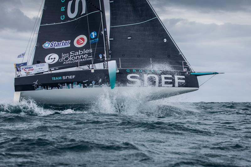 Xavier Macaire (Groupe SNEF) - The Solitaire URGO Le Figaro - photo © Vincent Olivaud