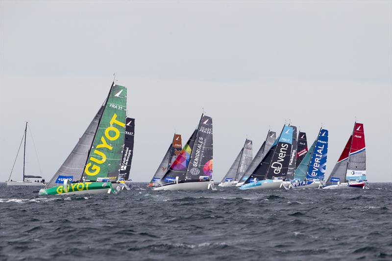Start of the Stage 3 - Solitaire Urgo Le Figaro 2019 - Roscoff - photo © Alexis Courcoux