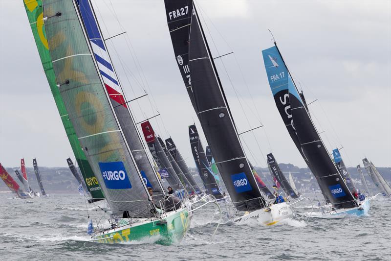 La Solitaire URGO Le Figaro 2019 Stage 3 Start - Light wind channel challenge