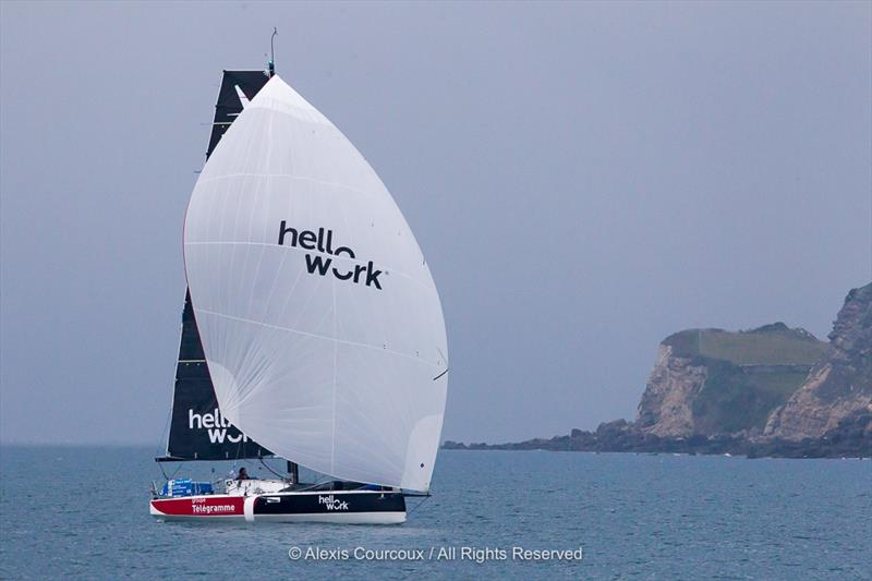 50th La Solitaire URGO Le Figaro Leg 4 photo copyright Alexis Courcoux taken at  and featuring the Figaro class